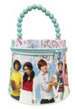 High School Musical Tin Box Carry All Tote Purse with Zipper - Blue