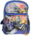 "Transformers Large 16"" Cloth Backpack Book Bag Pack - Blue"