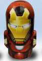 Iron Man Dome Round Tin Coin Bank