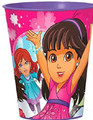 12X Dora and Friends Plastic 16 Ounce Reusable Keepsake Favor Cup ( 12 Cups )