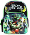 Teeenage Mutant Ninja Turtles Movie Toddler Small Black/Green Cloth Backpack