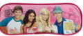 High School Musical Cloth Pencil Stationery Coloring Bag Case Box - Hot Pink