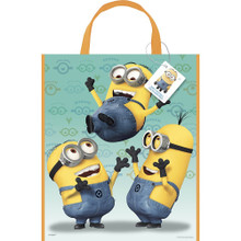 12X Despicable Me Minions Party Gift Favor Tote Bag (12 Bags)