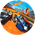 Hot Wheels Large 9 Inch Lunch Dinner Plates  - Wild Racer