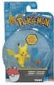 Pokemon 2 Pack Plastic Figures - Mudkip vs. Pikachu