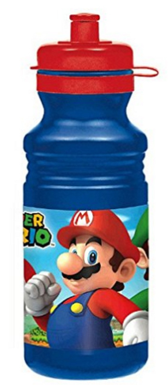 Super Mario Plastic Water Bottle