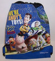 "Drawstring Bag - Toy Story ""We're Andy's Toys"" Cloth String Bag"