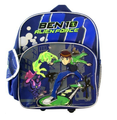 "Ben 10 Small Toddler 12"" Cloth Backpack Book Bag Pack - Alien Force"