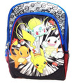 "Pokemon 3D Old School 16"" Inch Large Backpack"