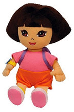 "Dora the Explorer Small 8"" Plush Toy"