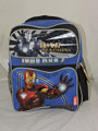 Iron Man 2 Toddler Backpack (War Machine/Mark VI) Blue/Black