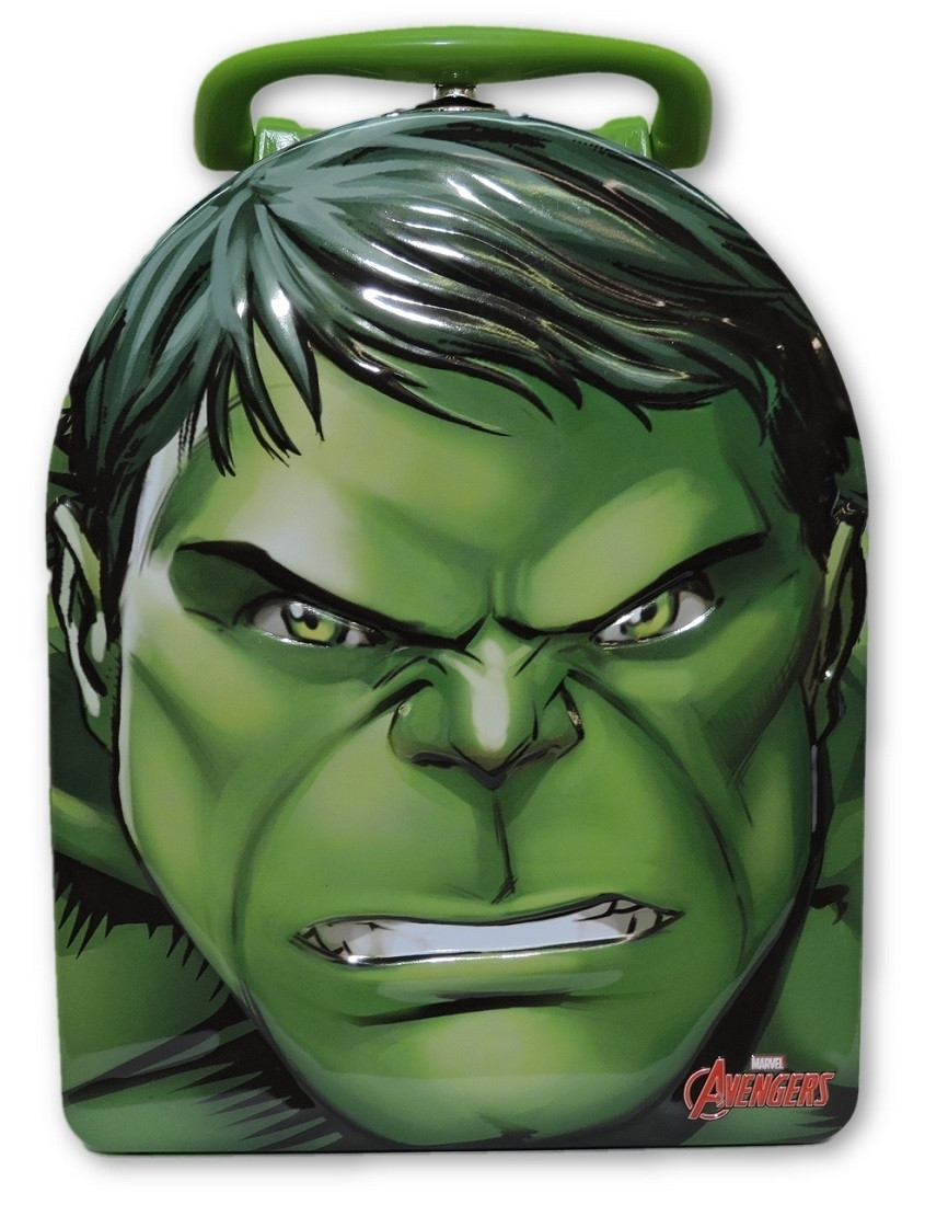 Avengers Vertical Tin Box - Hulk