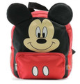 Mickey Mouse Small Toddler Cloth Backpack - Red