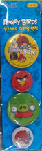 Angry Birds Pins Set 6 - Blue