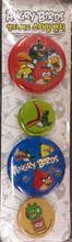 Angry Birds Pins Set 9 - White