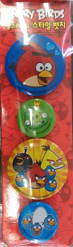Angry Birds Pins Set 7 - Red