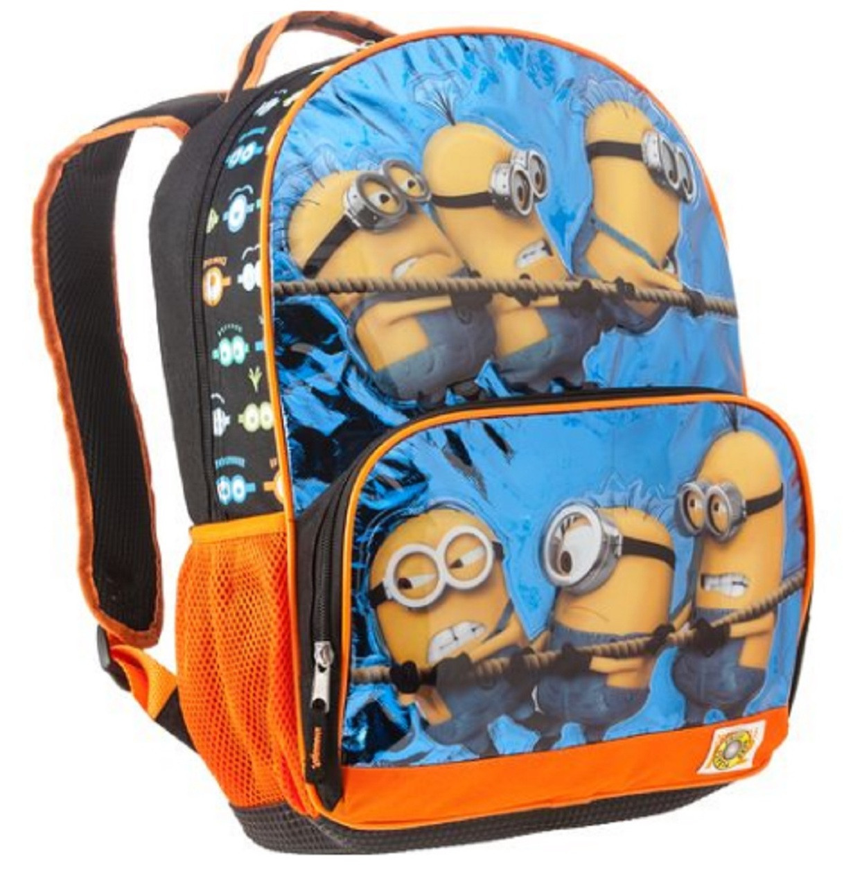 Despicable Me 16 Inch Large Backpack Orange - Who Wins?