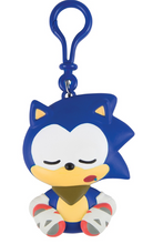 Sonic Boom Emoji Clip-on Figure -  Sleepy Sonic
