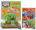 Transformers Rescue Bots Coloring Book  And Grab N Go Play Pack - Green