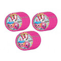 3X Shopkins Small 7 Inch Round Dessert Plates for 24 People