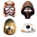 Star Wars Episode VII Paper Masks (pack of 8)