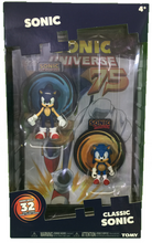 Classic Sonic 2 Pack Figures with Comic Book