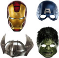 Avengers Assemble Paper Masks (pack of 4)