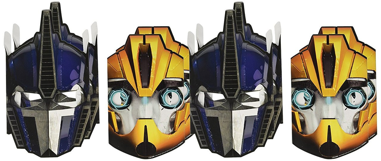 Transformers Paper Masks (pack of 8)
