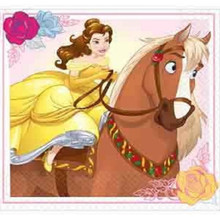 Beauty And The Beast Beverage Small Napkins Party Birthday