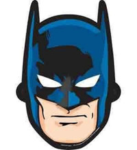 Batman Paper Masks (pack of 8)