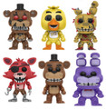 6X Funko Pop! Games Five Nights at Freddy's Vinyl Figures Toys