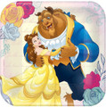 Beauty And The Beast 7 Inch Party Cake Dessert Plates