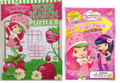 Strawberry Shortcake Puzzles Book and Grab and Go Play Pack Party Favors
