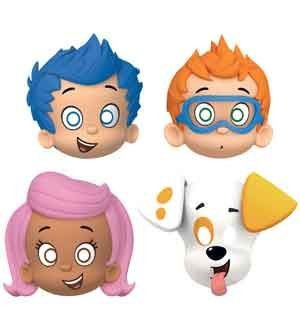 Bubble Guppies Paper Masks (pack of 8)