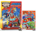 Transformers Rescue Bots Coloring Book And Grab N Go Play Pack - Red