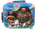 Moana 3D Rectangular Cross Body Insulated Lunch Box Lunch Bag