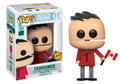 Funko Pop! South Park Terrance Chase Vinyl Figure #11 w/ Pop Protector