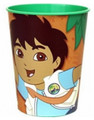 12X Diego Plastic 16 Ounce Reusable Keepsake Favor Cup