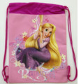 Drawstring Tangled Princess Rapunzel Light Pink Cloth String Bag