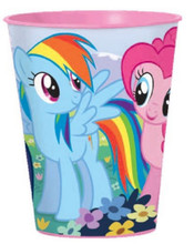 My Little Pony 16 Ounce Reusable Keepsake Favor Plastic Cup