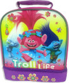 DreamWorks Trolls Insulated Dual Compartment Lunch Bag Lunch Box -  Troll Life