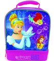 "Princesses ""Dream Big"" Vertical Dual Compartment Lunch-bag"