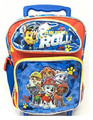 Paw Patrol is on a Roll! Small Toddler Rolling Backpack