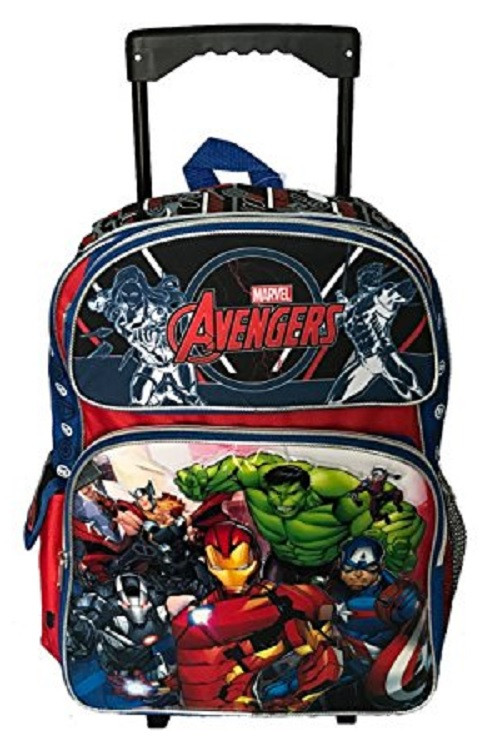 Marvel Avengers Animated Large Rolling Backpack