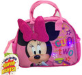 "Minnie Mouse ""One Cup or Two"" Lights Purse Lunch-bag"