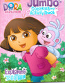 Dora the Explorer Jumbo 30 pg. Coloring and Activity Book - Exploring Together