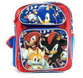 Sonic The Hedgehog Large 16 Inch Backpack - 4 Characters present