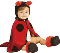 Rubie's Caped Cuties - Ladybug - Infant Size 3-12 months