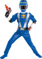Power Rangers Blue Ranger RPM Costume -Small Size 4-6