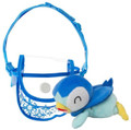 Pokemon Piplup Cross Body Purse w/ Plush Included